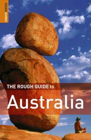 Cover of: The Rough Guide to Australia 8 (Rough Guide Travel Guides) | Rough Guides
