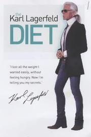 Cover of: The Karl Lagerfeld Diet