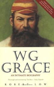 Cover of: W.G. Grace | Robert Low