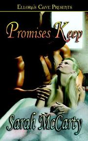 Cover of: Promises Keep