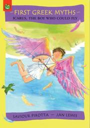 Cover of: Icarus, the Boy Who Could Fly (First Greek Myths)