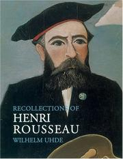 Cover of: Recollections of Henri Rousseau