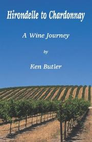Cover of: From Hirondelle to Chardonnay | Ken Butler