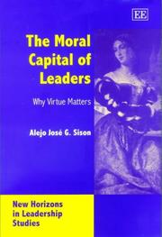 The Moral Capital of Leaders