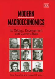 Modern Macroeconomics: Its Origins, Development and Current State