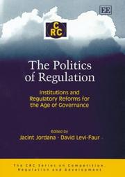 Cover of: The Politics Of Regulation |