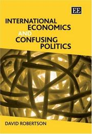 Cover of: International economics and confusing politics