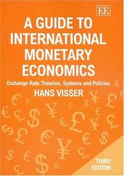 Cover of: A Guide To International Monetary Economics