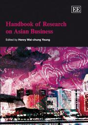 Cover of: Handbook of Research on Asian Business (Elgar Original Reference)