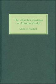 Cover of: The Chamber Cantatas of Antonio Vivaldi