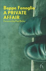 Cover of: A Private Affair (Modern Voices)