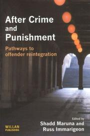 Cover of: After crime and punishment |