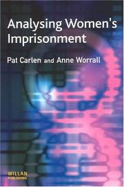Cover of: Analysing women's imprisonment