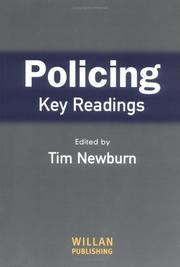 Cover of: Policing