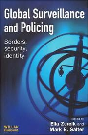 Cover of: Global surveillance and policing by