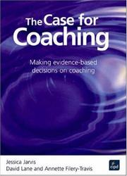 Cover of: Case for Coaching | Jessica Jarvis