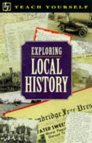Cover of: Exploring local history