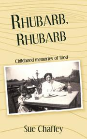 Cover of: Rhubarb, Rhubarb | Sue, Chaffey