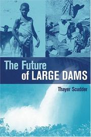 Cover of: The Future Of Large Dams | Thayer Scudder
