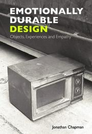 Cover of: Emotionally Durable Design | Jonathan Chapman