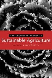 Cover of: The Earthscan reader in sustainable agriculture by