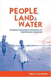 Cover of: People, Land and Water | Guy Bessette