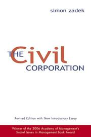 Cover of: The Civil Corporation
