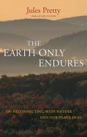 Cover of: The Earth Only Endures