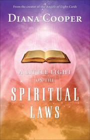 Cover of: A Little Light on the Spiritual Laws | Diana Cooper