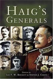Cover of: Haig's Generals