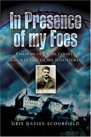 Cover of: IN PRESENCE OF MY FOES | Gris Davies-Scourfield