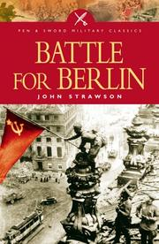 Cover of: BATTLE FOR BERLIN (Military Classics S.)