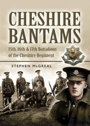 Cover of: The Cheshire Bantams | Stephen McGreal