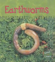 Cover of: Earthworms (Read & Learn: Ooey-gooey Animals)