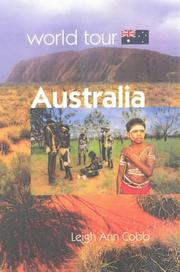 Cover of: Australia (World Tour)