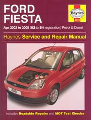 Cover of: Ford Fiesta Petrol and Diesel Service and Repair Manual