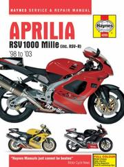 Cover of: Aprilia RSV 1000 Mille (inc. RSV-R)