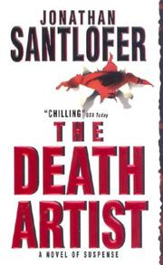 Cover of: The Death Artist | Jonathan Santlofer