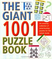 Cover of: The Giant 1001 Puzzle Book