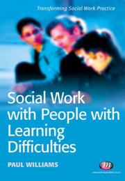 Cover of: Social Work With People With Learning Difficulties (Transforming Social Work Practice)