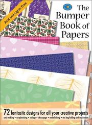 Cover of: The Bumper Book of Papers | Search Press