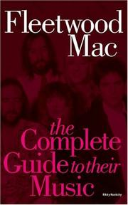 Cover of: Complete Guide to the Music of Fleetwood Mac (Complete Guide to the Music of...) (Complete Guide to the Music of...)