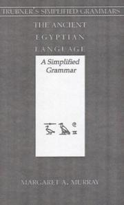 Cover of: The ancient Egyptian language