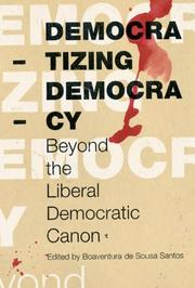 Cover of: Democratizing Democracy