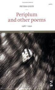 Cover of: Periplum and other poems