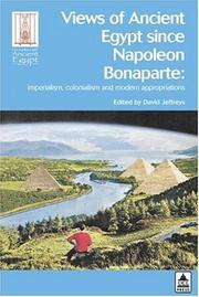 Cover of: Views of ancient Egypt since Napoleon Bonaparte |