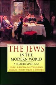 Cover of: The Jews in the Modern World | Hilary L. Rubinstein