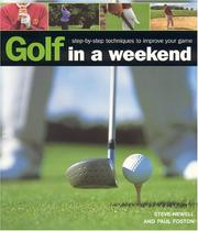 Cover of: Golf in A Weekend