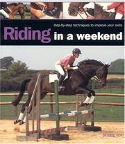 Cover of: Riding in A Weekend | Debbie Sly