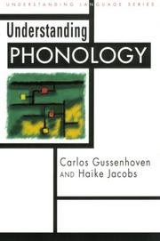 Cover of: Understanding phonology